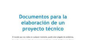 Documentos para la elaboración de un proyecto técnico - Tecnología - 3 de ESO