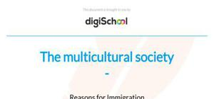 The multicultural society - French - AS level