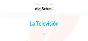La Televisión - Spanish - AS level
