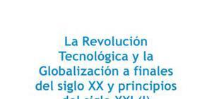 La Revolución tecnológica y la globalización a finales del siglo XX y principios del siglo XXI - Historia - 4 de ESO