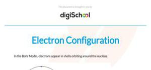 Electron configuration - Chemistry - AS level
