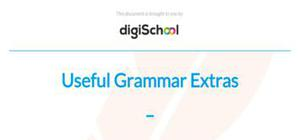 Useful grammar extras : present participle and venir de - French - GCSE
