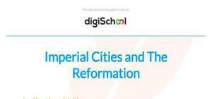 Imperial Cities and The Reformation - History - A level