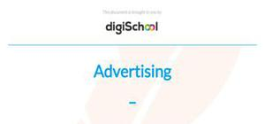 Reasons to advertise and Methods of advertising - French - AS level