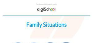Family situations - Spanish - GCSE