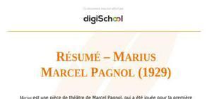 """Résumé – """"Marius"""" de Marcel Pagnol"""
