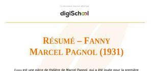 """Résumé – """"Fanny"""" de Marcel Pagnol"""