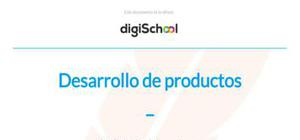 Desarrollo de productos - Marketing - Grado
