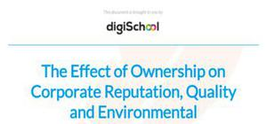 The effect of ownership on corporate reputation, quality and environmental performance - Business studies - AS level