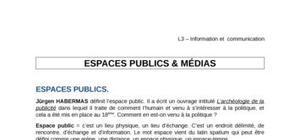 Espace Public & Médias