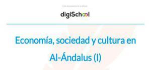 Economía, sociedad y cultura en Al-Ándalus