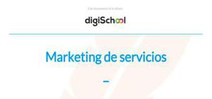 Marketing de servicios - Marketing - Grado