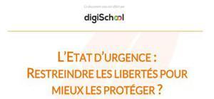 L'ETAT D'URGENCE :  RESTREINDRE LES LIBERTÉS POUR MIEUX LES PROTÉGER ?