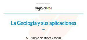 La Geología y su utilidad científica y social - Geología - 2 Bachillerato