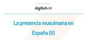 Los musulmanos en España - Historia - 2 Bachillerato