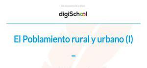 El hábitat rural - Geografía - 2 Bachillerato