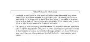 Virus et Antivirus (BTS CI)