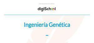Técnicas de ingeniería genética - Biología - 4 ESO