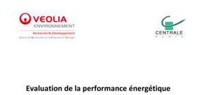 Evaluation de la performance énergétique