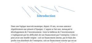 monnaie banque finance