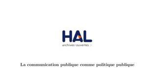 La communication publique comme politique publique