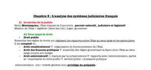 L'analyse des systèmes judiciaires français