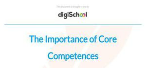 The importance of core competences - Business Studies - A Level