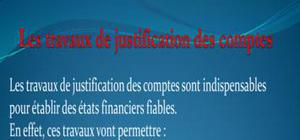 La justifications des comptes