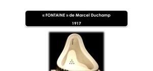 """Duchamp """"Fontaine"""" oeuvre célèbre"""