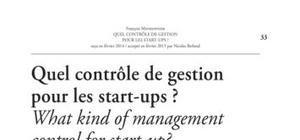 controle de gestion start up