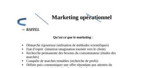 Marketing opérationnel IUT