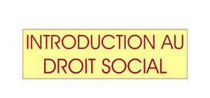 droit social et travail