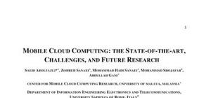Cloud Computing Etat de l'art