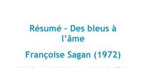 Des bleus à l'âme - Françoise Sagan
