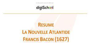 La nouvelle Atlantide - Francis Bacon