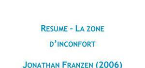 La zone d'inconfort - Jonathan Franzen