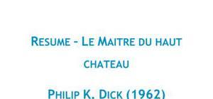 Le maître du haut château - Philip K. Dick
