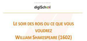 Le soir des Rois ou ce que vous voudrez - William Shakespeare