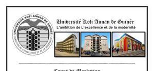 Les Politique du Produit Markéing/ Université Kofi Annan de Guinée