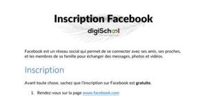Inscription facebook : la méthode étape par étape