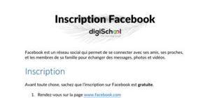 Inscription facebook : la méthode étape par étape