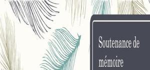 Modèle d'une soutenance de stage / mémoire