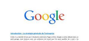 Google bien être au travail