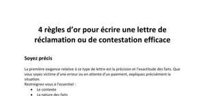 Comment rédiger une lettre de réclamation : Méthode et exemples
