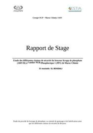 Modele Rapport De Stage Assp Document Online